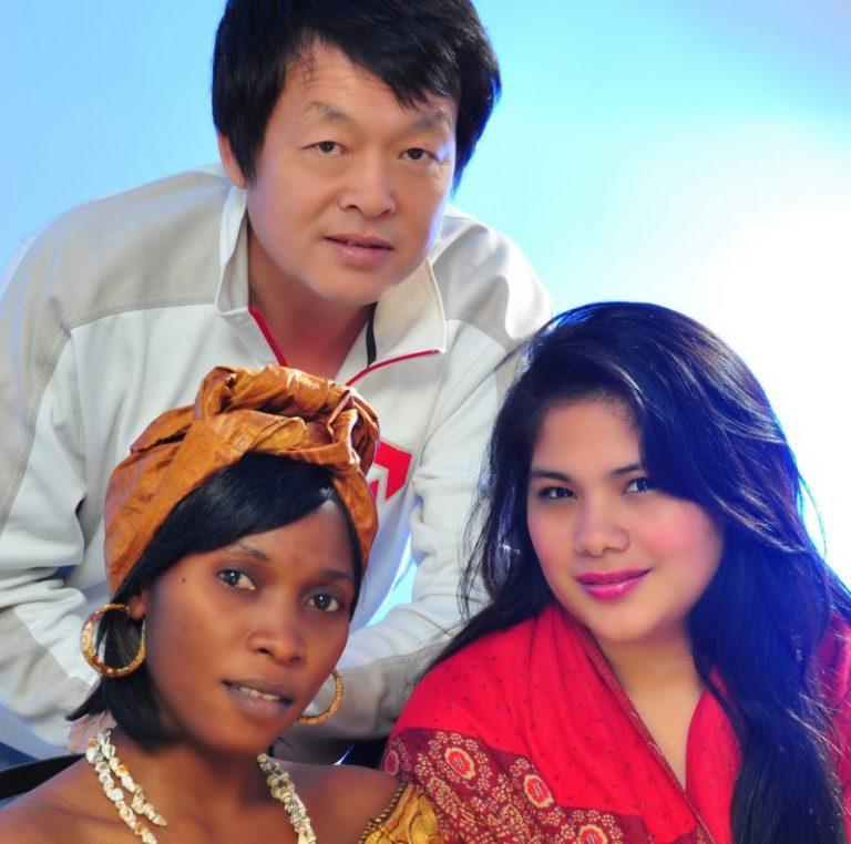 Trio Multi-ethnique
