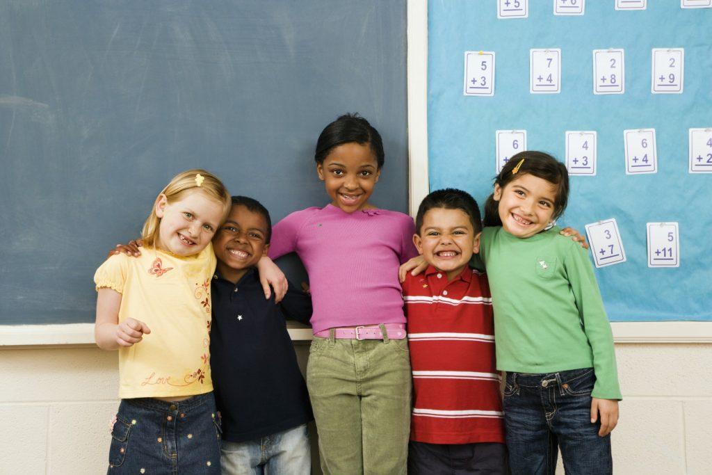 enfants diversité ethnique